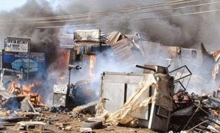 [Video] Danh bom lieu chet tai Nigeria, hon 60 nguoi thuong vong - Anh 1
