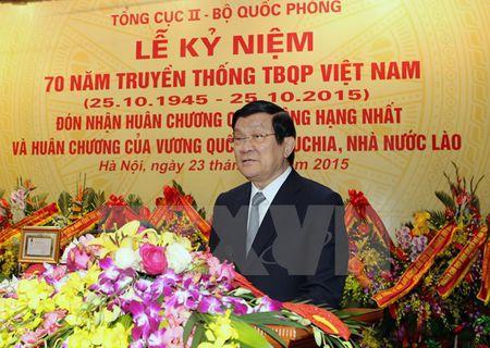 Ky niem 70 nam truyen thong Tinh bao Quoc phong Viet Nam - Anh 1