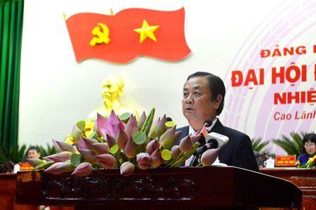 Dong chi Le Minh Hoan tai dac cu Bi thu Tinh uy Dong Thap khoa X, nhiem ky 2015 - 2020 - Anh 1