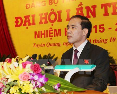 Ong Chau Van Lam tai dac cu Bi thu Tinh uy Tuyen Quang - Anh 1