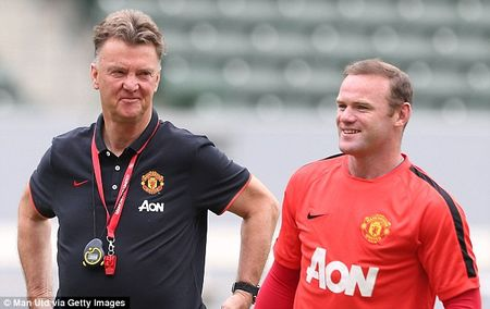 "Van Gaal hy vong Rooney se ""no sung"" o tran derby Manchester - Anh 1"