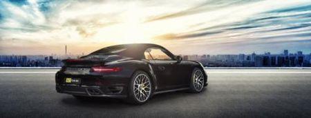 La mat voi Porsche 911 Turbo S Cabriolet phien ban do - Anh 2