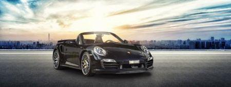 La mat voi Porsche 911 Turbo S Cabriolet phien ban do - Anh 3