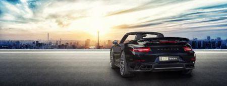 La mat voi Porsche 911 Turbo S Cabriolet phien ban do - Anh 4