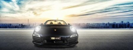 La mat voi Porsche 911 Turbo S Cabriolet phien ban do - Anh 5
