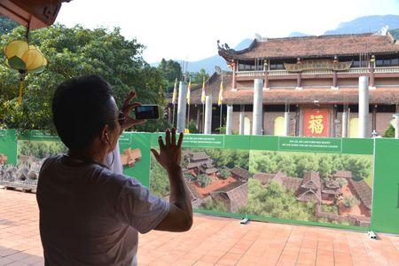 Can canh cong trinh trai phep trong khu di tich Yen Tu - Anh 2