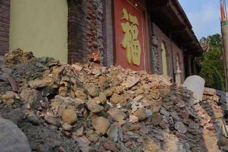 Can canh cong trinh trai phep trong khu di tich Yen Tu - Anh 5