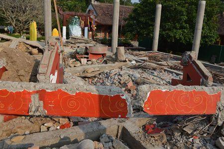Can canh cong trinh trai phep trong khu di tich Yen Tu - Anh 6