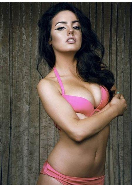 25 co gai xinh dep canh tranh ngoi Hoa hau Bikini - Anh 12