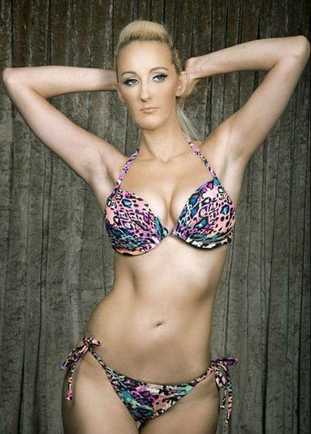 25 co gai xinh dep canh tranh ngoi Hoa hau Bikini - Anh 13