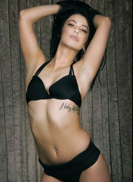 25 co gai xinh dep canh tranh ngoi Hoa hau Bikini - Anh 14