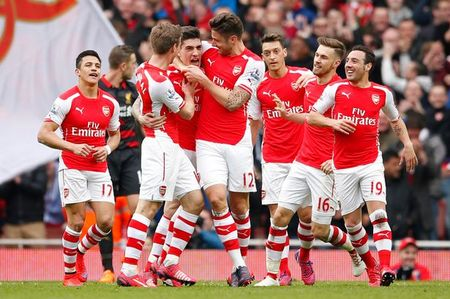 Arsenal ra san voi doi hinh nao trong cuoc tiep don Everton? - Anh 1