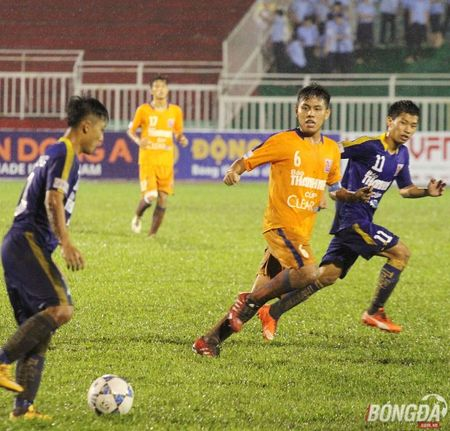 U21 SHB. Da Nang thang nhoc nhan truoc S. Khanh Hoa - Anh 5