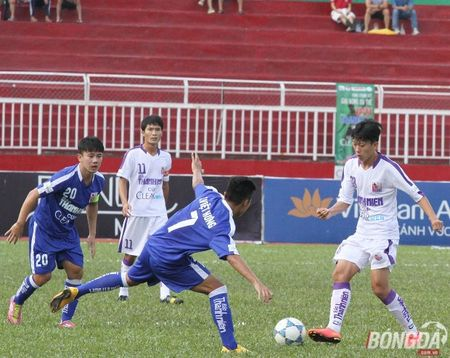 """U21 Gia Lai thua do mat san xau qua"" - Anh 1"