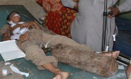 Danh bom tu sat kinh hoang o Pakistan, 32 nguoi chet - Anh 1