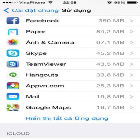 Meo hay tang dung luong bo nho cho iPhone, iPad - Anh 9