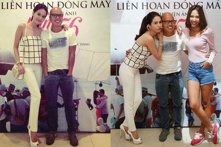 Ngoc Trinh quay het minh tai tiec dong may phim dau tay - Anh 12