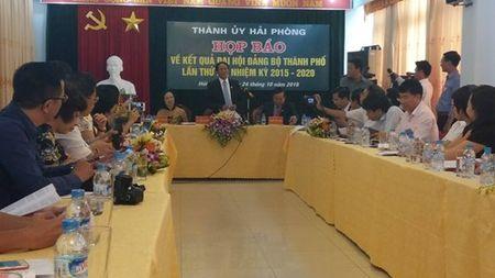 Ong Le Van Thanh duoc bau lam Bi thu thanh uy Hai Phong - Anh 1