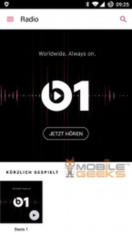Ro ri hinh anh ung dung Apple Music danh cho Android, van chua ro ngay ra mat - Anh 3
