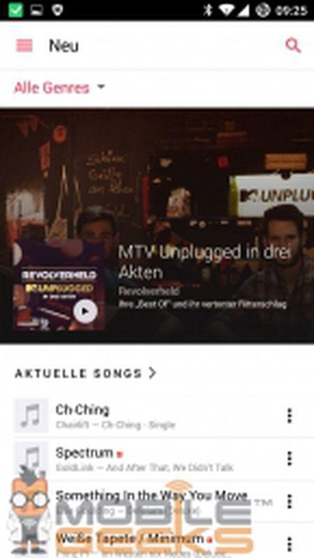 Ro ri hinh anh ung dung Apple Music danh cho Android, van chua ro ngay ra mat - Anh 4