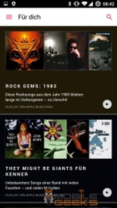 Ro ri hinh anh ung dung Apple Music danh cho Android, van chua ro ngay ra mat - Anh 5