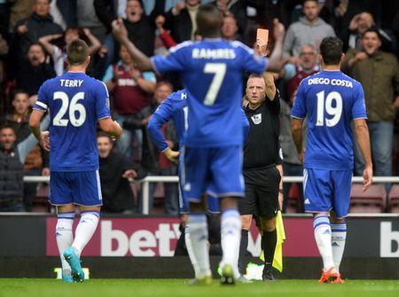 Chelsea guc nga tai Upton Park, Mourinho lam nguy - Anh 2