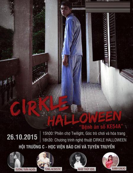 Sinh vien Bao chi tung bung mua le hoi Halloween - Anh 2