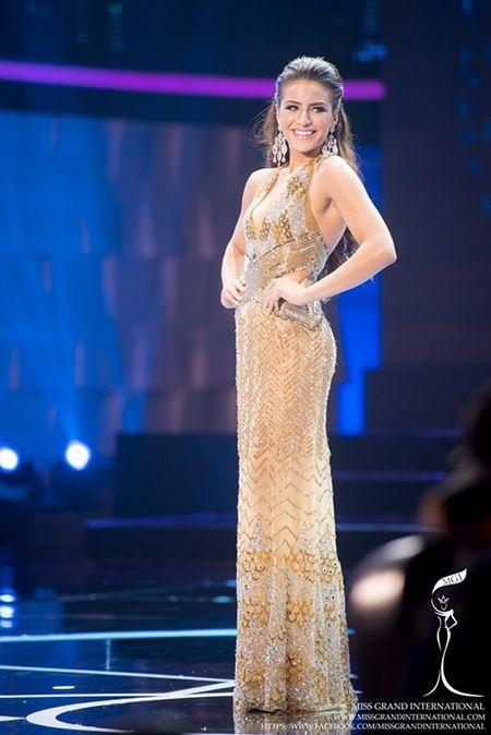 Le Quyen hoi hop cho ket qua top 20 Miss Grand International 2015 - Anh 13