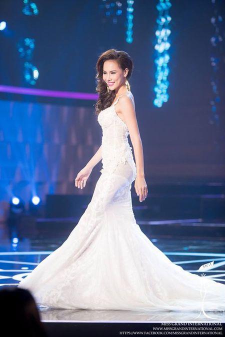 Le Quyen hoi hop cho ket qua top 20 Miss Grand International 2015 - Anh 1