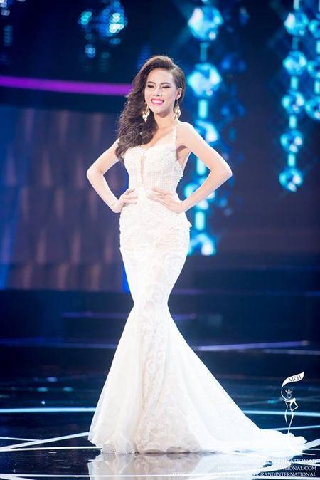 Le Quyen hoi hop cho ket qua top 20 Miss Grand International 2015 - Anh 2