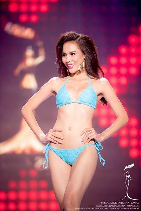 Le Quyen hoi hop cho ket qua top 20 Miss Grand International 2015 - Anh 3
