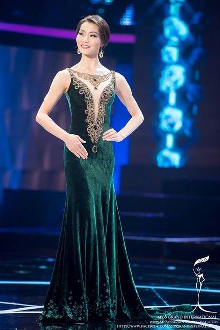 Le Quyen hoi hop cho ket qua top 20 Miss Grand International 2015 - Anh 8