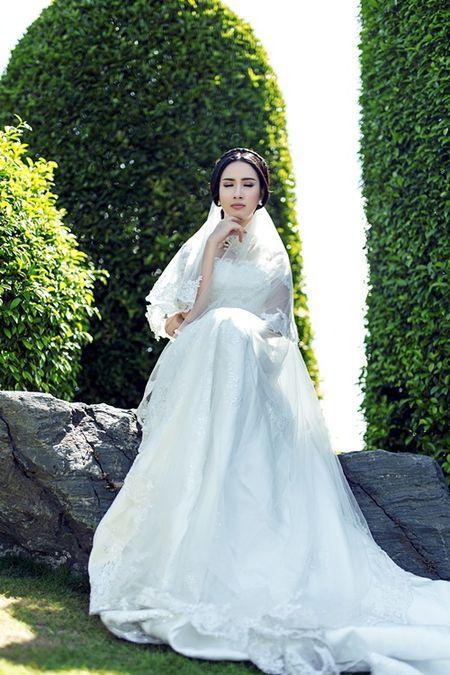 Phan Thi Mo u buon khi phai lam co dau mot minh - Anh 6