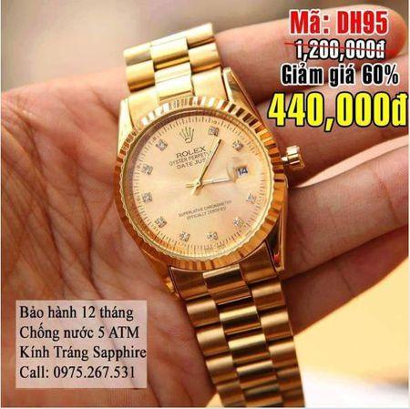 Dat mua dong ho Rolex nhan duoc Riando: Nguoi tieu dung keu 'dang'! - Anh 1