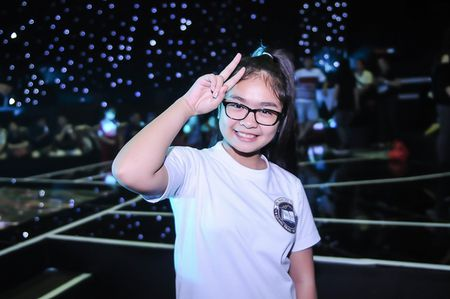 My Tam tich cuc tap luyen cung The Voice Kids - Anh 11