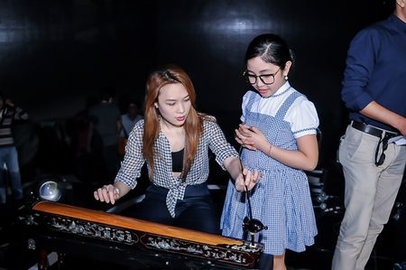 My Tam tich cuc tap luyen cung The Voice Kids - Anh 1