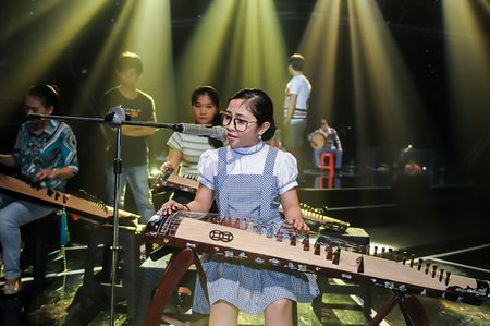 My Tam tich cuc tap luyen cung The Voice Kids - Anh 4