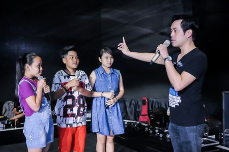 My Tam tich cuc tap luyen cung The Voice Kids - Anh 5