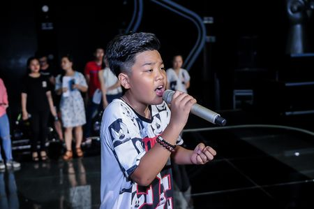 My Tam tich cuc tap luyen cung The Voice Kids - Anh 7