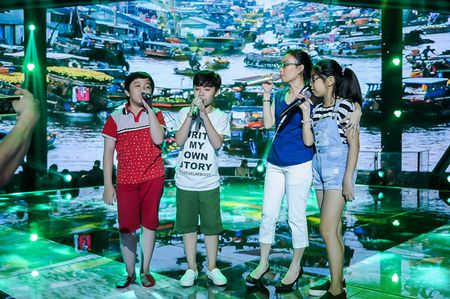 My Tam tich cuc tap luyen cung The Voice Kids - Anh 8
