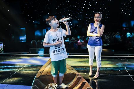 My Tam tich cuc tap luyen cung The Voice Kids - Anh 9