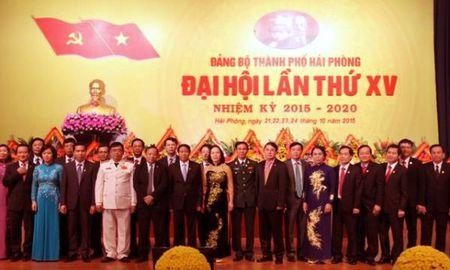 Ong Le Van Thanh duoc bau lam Bi thu Thanh uy Hai Phong khoa 15 - Anh 1