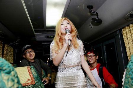 'Bo roi' Duong Khac Linh, Trang Phap di tour voi hotboy nguoi Han - Anh 2