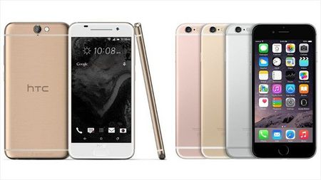 HTC tung bang chung 'to nguoc' iPhone 6s sao chep thiet ke HTC One M7 - Anh 1
