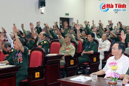 Dai hoi thanh lap Hoi Chien sy bao ve thanh co Quang Tri - Anh 1