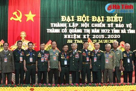 Dai hoi thanh lap Hoi Chien sy bao ve thanh co Quang Tri - Anh 2