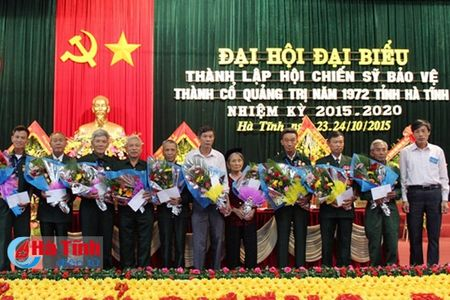 Dai hoi thanh lap Hoi Chien sy bao ve thanh co Quang Tri - Anh 3