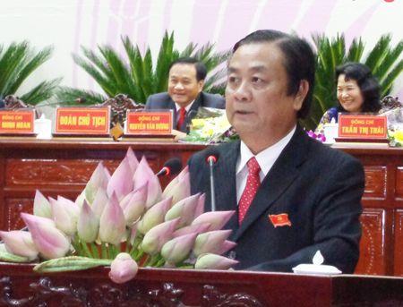 Ong Le Minh Hoan tai dac cu Bi thu Tinh uy Dong Thap - Anh 1
