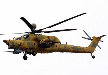 "Clip: Mi-28 ""Tho san dem"" Iraq san khung bo IS - Anh 1"