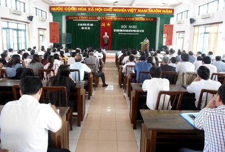UBMTTQVN tinh Phu Yen: Tap huan cong tac giam sat va phan bien xa hoi - Anh 2